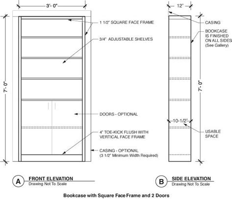 door bookcase plans woodwork