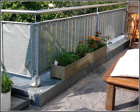 sichtschutz balkon selber machen balkon house und