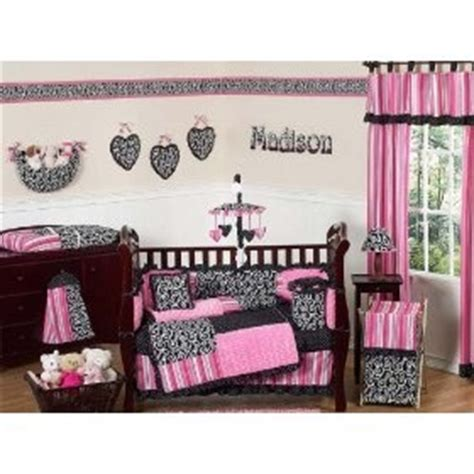 Cheetah Print Crib Bedding by Pink And Black Cheetah Print Crib Bedding Set Room