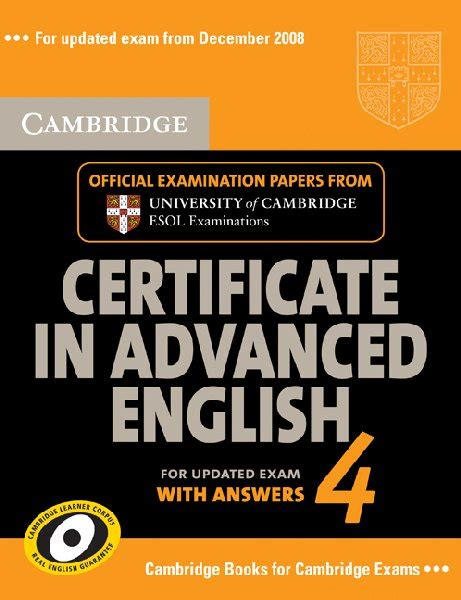advanced updated for 4 books cambridge certificate in advanced self study
