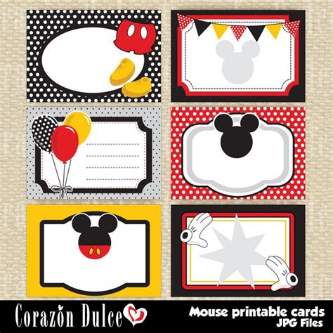 Free Printable Mickey Mouse Birthday Cards Luxury - mouse printable cards printable cards for