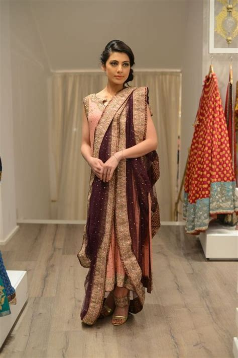 neat saree draping photo gallery shawls exhibition by nida azwer ux ui