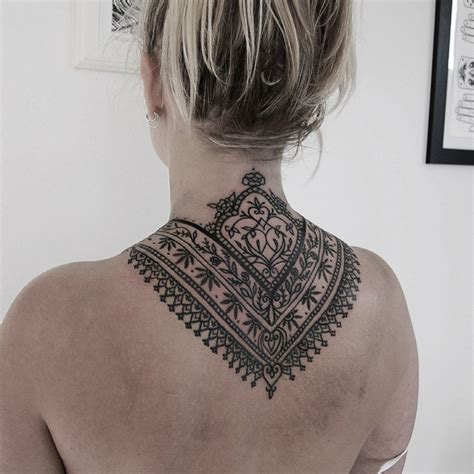 tattoo mandala nacken 1001 ideen f 252 r tattoo nacken was sie t 228 towieren k 246 nnen