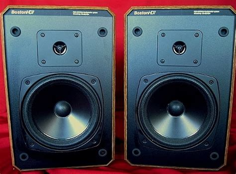 boston acoustics hd 7 bookshelf speakers boston