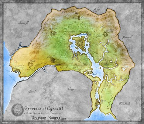 oblivion map cyrodiil minecraft project