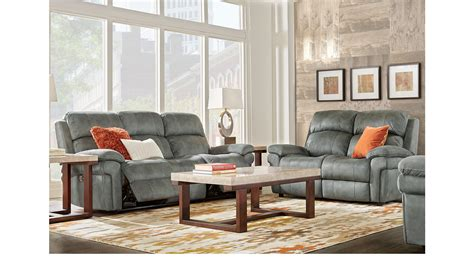 1 799 99 Glendale Charcoal Dark Gray 3 Pc Living Room Charcoal Living Room Furniture