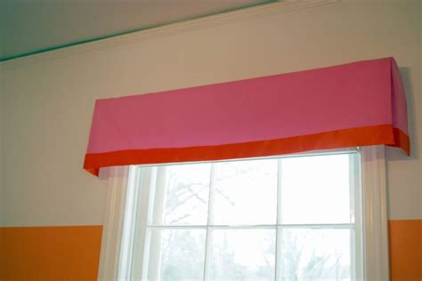 window box treatments diy no sew window treatment box pleat valance fabric