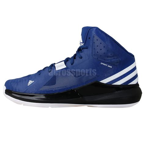 2014 new basketball shoes adidas strike blue black 2014 new mens lightweight