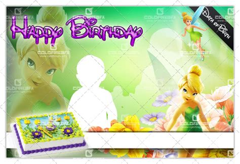 free download of tarpaulin layout tinkerbell birthday template psd 171 coldfiredsgn