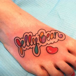 jelly bean tattoo jelly bean search for my jilly bean