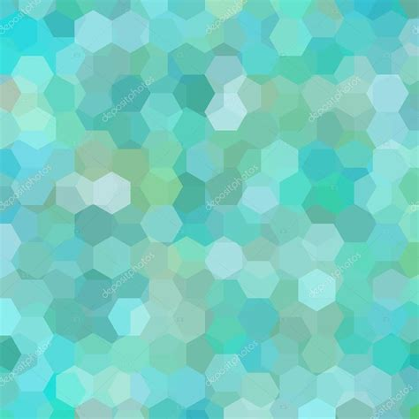 pattern background green blue geometric pattern vector background with hexagons in