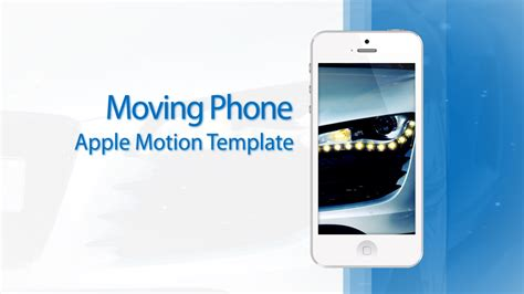 cut motion templates moving phone 15s commercial white edition cut