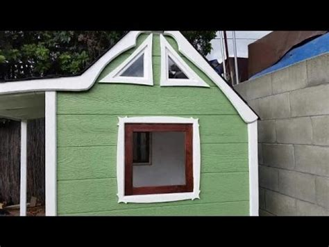 play house windows how i made windows for the playhouse youtube