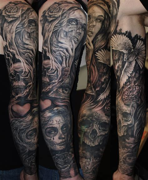 day of the dead skull tattoos for men pin by kassi b on tattoos ink