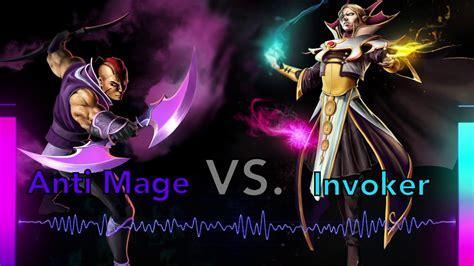 Dota 2 Anti Mage dota 2 rap battle invoker vs anti mage