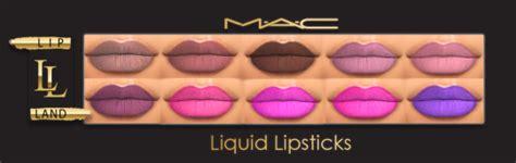 sims 4 mac wann my sims 4 lipstick by maccosimetics