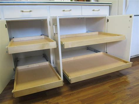 shelves for kitchen cabinets kitchen cabinet sliding shelves rapflava