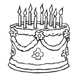 cake coloring pages coloring page birthday cake az coloring pages