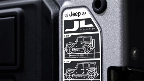 jeep wrangler easter eggs jeep wrangler jl details and easter eggs youtube