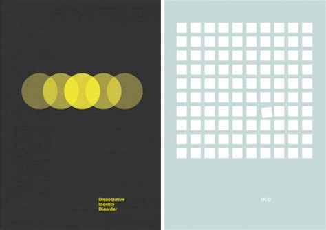 minimalist graphic design doctored designs 6 minimalist mental disorder posters