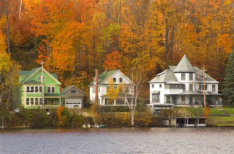 small villages in usa 50 small towns across america with the most beautiful fall