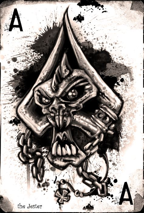 ace of spades by bane the jester on deviantart