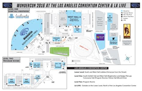 los angeles convention center floor plan 02 wondercon at the los angeles convention center