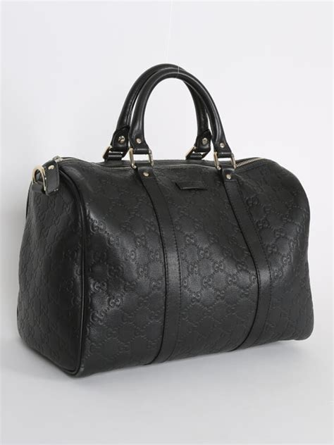 Gucci Boston Bag Bag Bliss by Gucci Guccissima Leather Boston Bag Black Luxury Bags