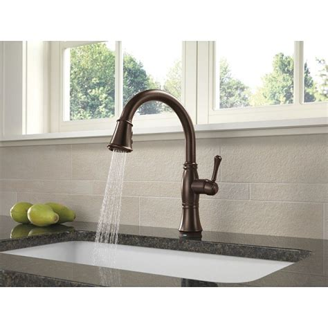 delta faucet 9197t cassidy touch single handle pull down delta 9197t dst cassidy single handle pull down kitchen