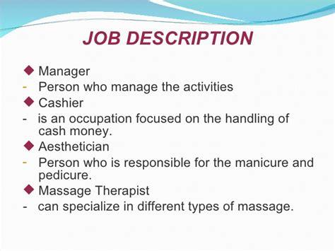 massage therapist job duties homework writing service