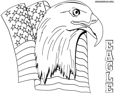 eagle flag coloring page 91 american flag with eagle coloring page top eagle