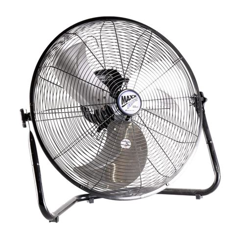 shop fan home depot ventamatic 20 in high velocity floor fan hvff 20ups the