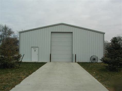 All Steel Sheds by New A Hardsteel All Steel Building 30x40x10