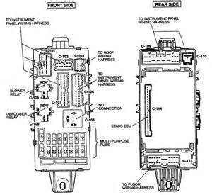 2001 Mitsubishi Eclipse Fuse Box Diagram I A 2001 Mitsubishi Eclipse Spyder Gt Convertible 3 0