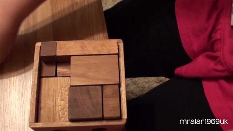 piece wooden puzzle solved    year  youtube
