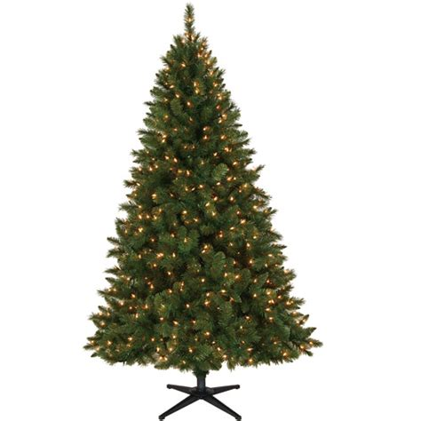 Tree Lights Walmart - time 6 5 windham pine artificial tree