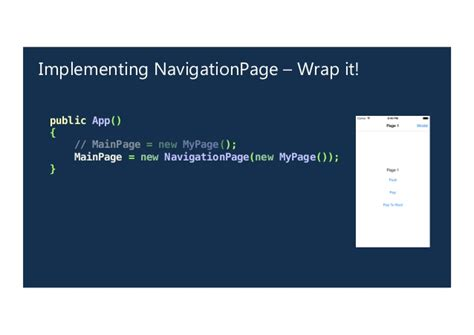 wrap layout xamarin forms navigation in xamarin forms