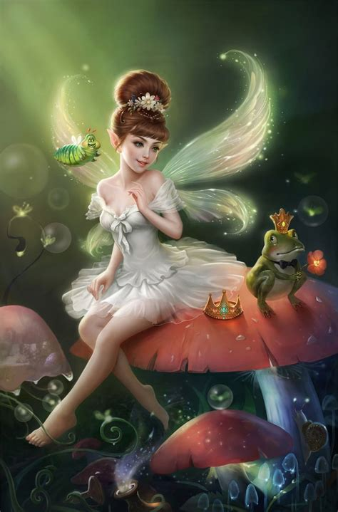 fairies and fantasy by the princess and the frog picture 2d fantasy fairy princess frog art fantasy iii