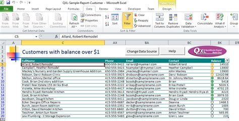 Aging Report For One Customer In Quickbooks by Qxl Start Guide For Qxl For Quickbooks Qxl