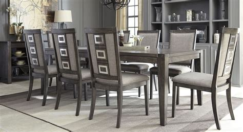 extendable dining sets chadoni gray rectangular extendable dining room set dining