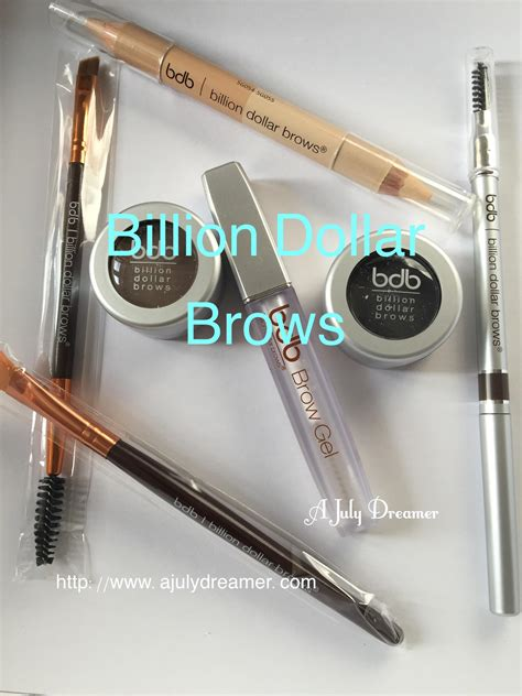 Billion Dollar Giveaway - beauty billion dollar brows giveaway a july dreamer