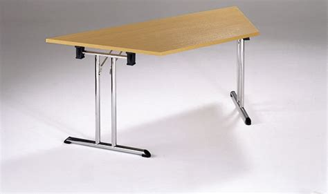 Trapezoid Conference Table Detroit Trapezoidal Folding Conference Table Reality