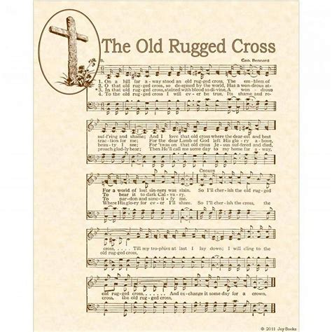 who wrote rugged cross rugged cross custom christian home decor by vintageverses on zibbet