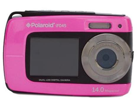polaroid pink if045 14.1 mp digital camera just $49.98