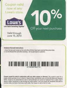 lowe s home improvement coupons printable lowes coupon 20 10 codes december 2016