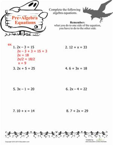Easy Algebra Fifth Grade Numbers And Search