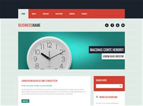 html 36 free website template | free css templates | free css