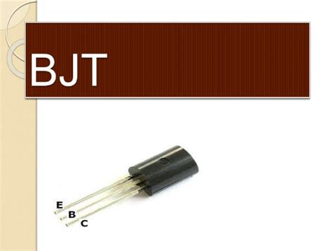 transistor bjt slideshare bjt and cmos as a switch