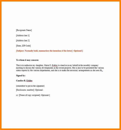 authorization letter yahoo 16 best templates images on passport template