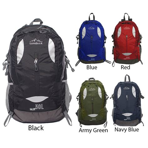 Luminox Hiking Backpack 5025 30l Biru jual tas ransel gunung hiking backpack luminox 5025 30l di lapak okebuy belanja okebuy99